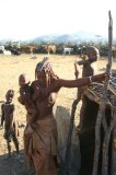 Himba Mutter mit Kinde